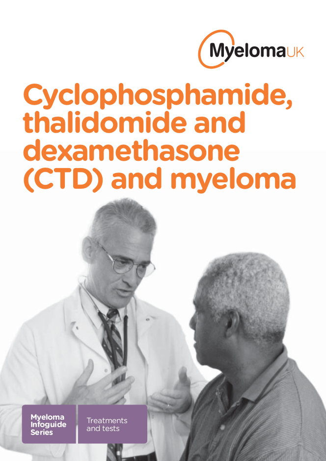 Myeloma UK CTD Infoguide March 14