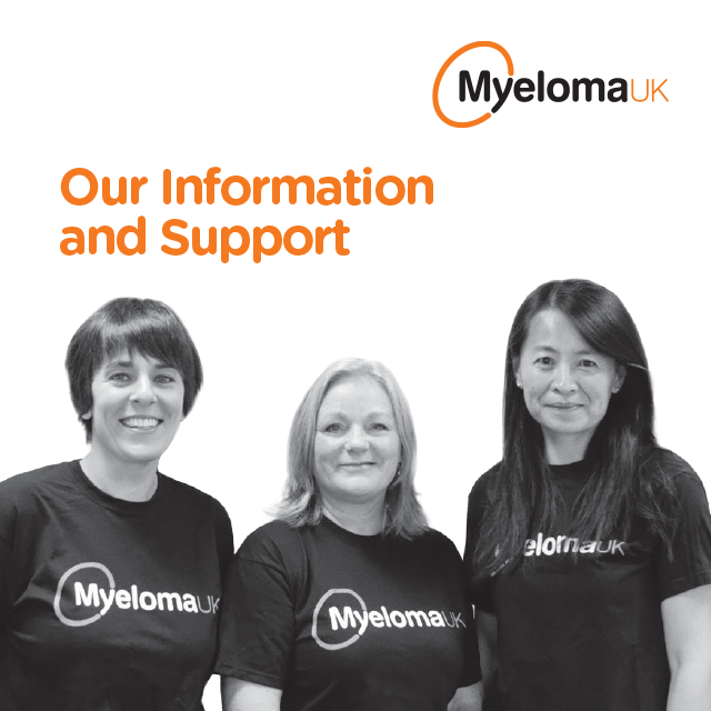 Myeloma UK Our Information and Support