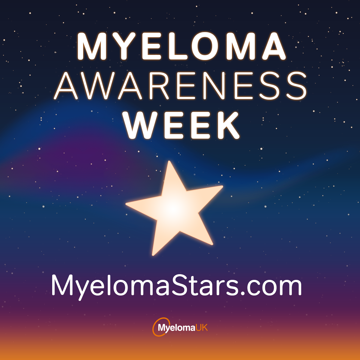 Myeloma UK Awareness Week image